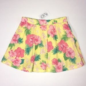 NWT C.Place 5T floral tropical skort